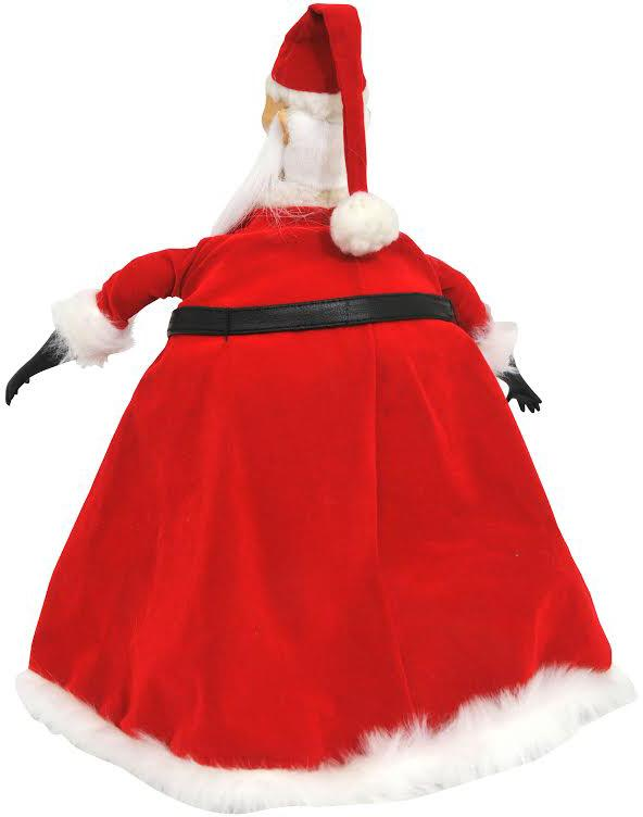 the nightmare before christmas deluxe collection doll santa claus - Nightmare Before Christmas Santa Hat